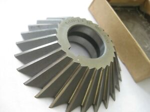 Milling Shell Cutter 4 X 1 X 1 1 4 45 Included Angle 26 Teeth