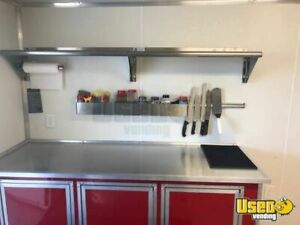 2018 8 5 X 22 Lark Bbq Concession Trailer With Porch For Sale In Texas