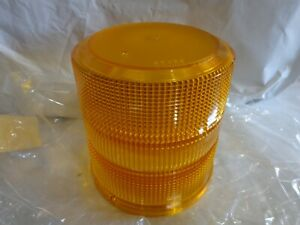 Whelen Dh2000a High Dome Amber Lens For 2000 2500 l10 l21 l22 Series Beacons