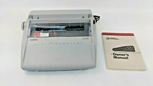 Vintage Brother Gx 6750 Daisy Wheel Portable Electronic Typewriter Tested Works