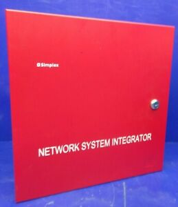 Simplex Network System Integrator Panel 4190 9830