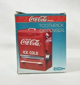 NIP Collectible Coca-Cola Diner Collection Toothpick Dispenser 1995. Brand New