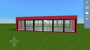 Brand New Detachable 10mx2 2mx2 3m Container House Office Hotel Shipped By Sea