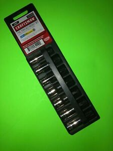 Usa Made Craftsman Torx Bit 1 4 And 3 8 Drive Socket Set 7pc 34449