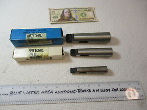 3 Morse Taper Sleeve Adapter Reducing Drill Sleeve National 1 2 2 3 2 4 Ec