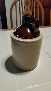 Western Stoneware 1 2 Gallon Crock Shoulder Jug Unusual Small Size Excellent