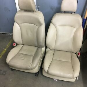 2006 2008 Oem Lexus Is250 Beige Tan Leather Front Seats Heated Cooled Pickedup