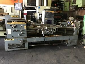 Hes Machine Tool 16 Engine Lathe Type Hesp16 w 3 Jaw 10 Chuck