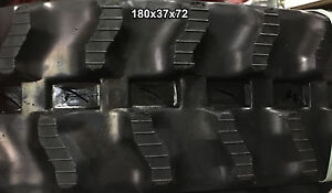 2 tracks Miller Lifter Rubber Track Ml1600 Ml 1600 Ml 1600 180x37x72 1803772