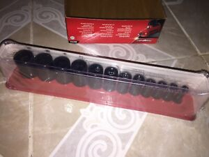 Brand New Snap On Tools 212simfya Socket Set And Magnetic Case