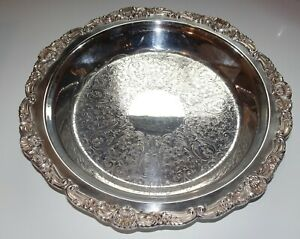 Poole Silver Footed Plate 14 Heavy