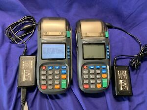 Pax S80 Dial ip Dual Comm Emv Scr Credit Card Machine W power Adapter ea used