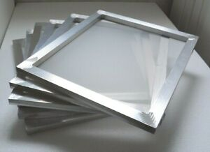 6 Pc 18 X20 Aluminum Screen Frame With 110 Mesh Fabric Printing Press Plate