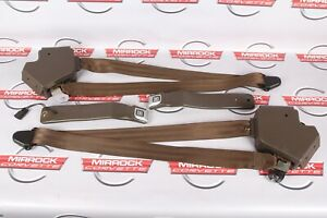 C4 Corvette Seat Belts And Receivers Coupe Set Bronze Color Low Miles Nice 84 87