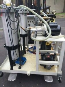 Used Hydraulic Oil Filtration System Portable