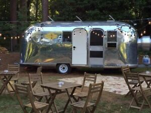 Vintage 1966 6 X 22 Airstream Food Concession Trailer For Sale In Georgia