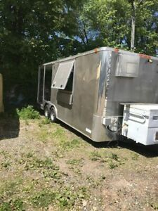 2016 8 X 20 Food Concession Trailer With Porch For Sale In New York