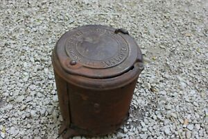 Antique Deere Mansur Company Seed Corn Planter Cover Horse Drawn