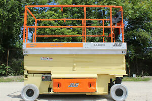 Jlg 3246es Platform Electric Scissor Lift Refurbished Manlift Aerial Lift Jlg