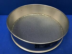 Humboldt No 14 Usa Standard Testing Sieve Stainless Steel 12 dia X 3 1 4 deep