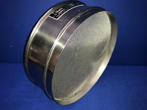 Humboldt No 25 Usa Standard Testing Sieve Stainless Steel 12 dia X 3 1 4 deep