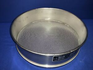 Humboldt No 20 Usa Standard Testing Sieve Stainless Steel 12 dia X 3 1 4 deep
