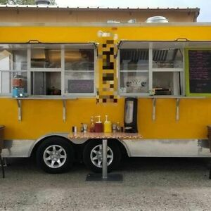 2012 16 Mobile Kitchen Food Concession Trailer For Sale In Colorado