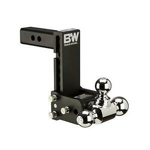 B W Trailer Hitches Tow Stow 2 Inch Receiver Hitch Black Ts10049b