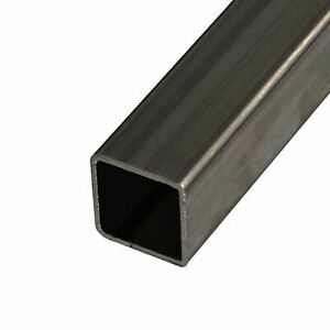 Steel Mechanical Square Tube 1 1 4 X 1 1 4 X 0 083 X 18 Feet 3 Pieces 72