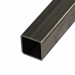 Steel Mechanical Square Tube 1 1 4 X 1 1 4 X 0 083 X 12 Feet 3 Pieces 48