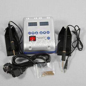 Dental Laborary Electric Waxer Double Carving Knife Wax Pens 5 tips H awi