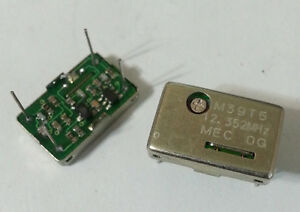 Square Wave Crystal Oscillator Mec Mercury M39t5 12 352mhz Tcxo Dip14 New 25pc