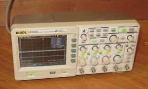Rigol Ds1204b Digital Oscilloscope 4 channel 200mhz 2gsa s