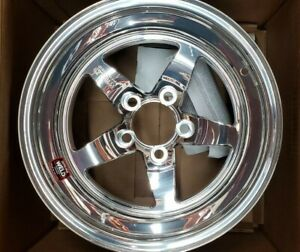 71mp 509a55a Weld Racing Rts Forged Aluminum Polished Wheel 15 X9 275 5x4 5 Bc