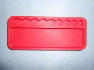 Tool Organizer Red Plastic 1 4 Drive Socket Ratchet Extension Breaker
