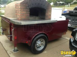 2012 6 5 X 12 4 Turnkey Wood Fired Pizza Trailer For Sale In Illinois