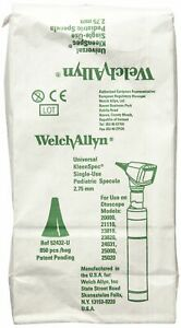 Welch Allyn Universal Kleenspec Pediatric Disposable Ear Specula For Diagnost
