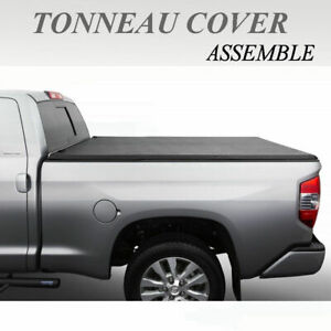 Fit 2007 Chevy Silverado Classic Body 5 8ft Bed Assemble Tri Fold Tonneau Cover