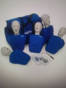 Cpr Prompt 7 Packs 5 adult child Pack Blue With Update Feedback Kits Update