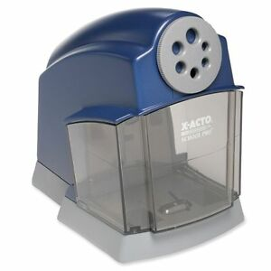 Electric Pencil Sharpener Heavy Duty Motor Carbon Steel Sharpened Blades New