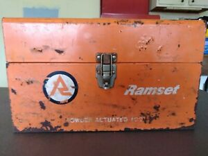 Ramset Powder actuated Tool Comes With Toolbox Extras