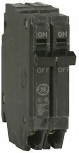 General Electric Thqp250 Circuit Breaker 2 pole 50 amp Thin Series