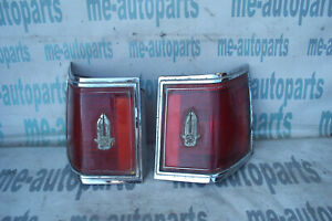 1976 1979 Cadillac Seville Factory Set Rear Taillights Taillamps Tail Light Lamp