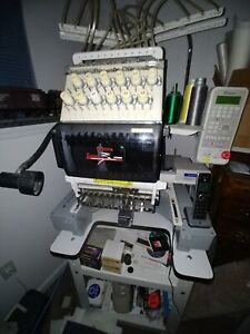 Professional Toyota Expert Ad860 Computerized Embroidery System With Hat Hoops