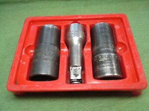 Vintage Snap On Blue Point Lug Nut Tool Set Impact
