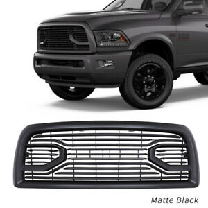 Fits For Dodge Ram 2500 3500 Front Grille Big Horn Black 2013 2018 With Letters