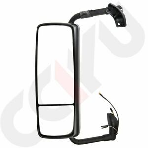 Cciyu Top Tow Mirrors Lh Chrome Complete Truck For 2015 2018 Volvo Vnl