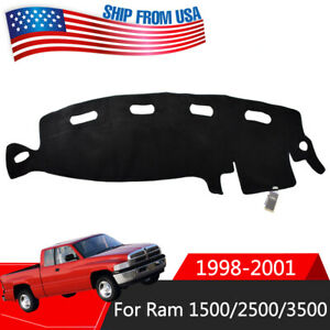 Xukey Dashboard Cover Mat Dashmat For Dodge Ram 1500 2500 3500 1998 2001 2000