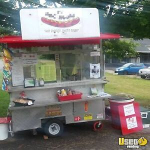 4 X 8 Food Concession Trailer For Sale In New York