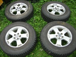 4 Gislaved Studded Tires 225 70 R16 Ms At Italia 16 Inch Aluminum Rims